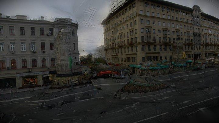 Tverskaya Street 3D Model