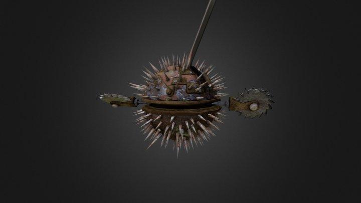 Spikes ball 3D Model