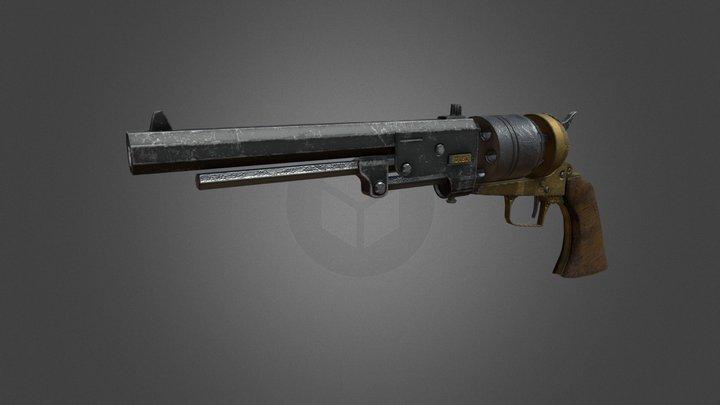 Gunsling High For FAB2 3D Model