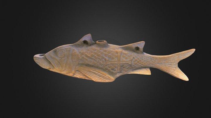 Copie a unui opaiț creștin sec. IV 3D Model