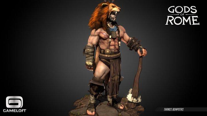Hercules - Gods of Rome 3D Model