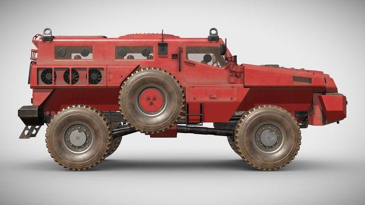Paramount Marauder 3D Model
