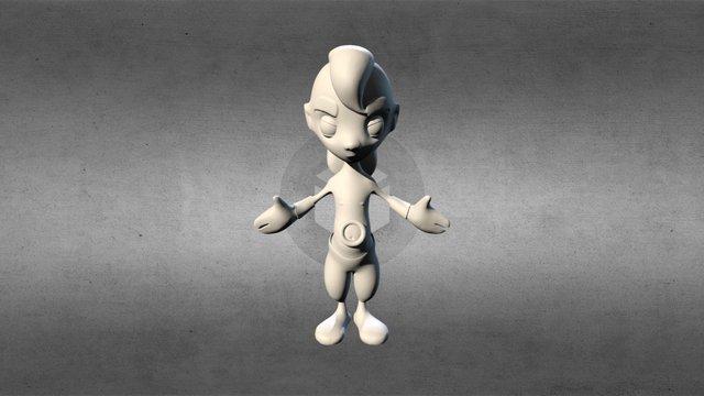 Atreyu 3D Model