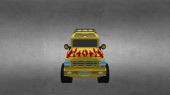 Monster Truck 05 3D Model