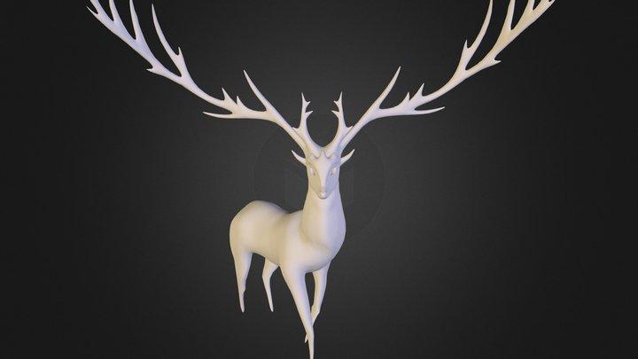 Realistic Xerneas  3D Model