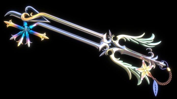 Oathkeeper - Kingdom Hearts 3D Model
