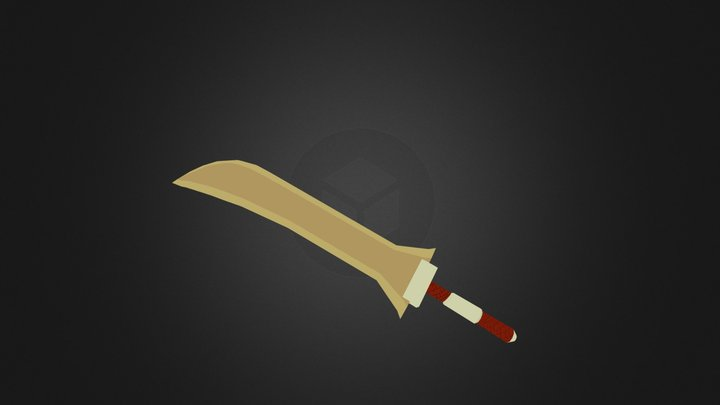 Desert Long Sword 3D Model