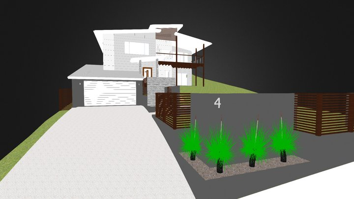 House Example 3D Model