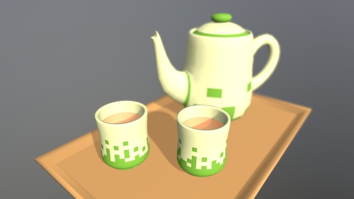 Tea for two 3D Model