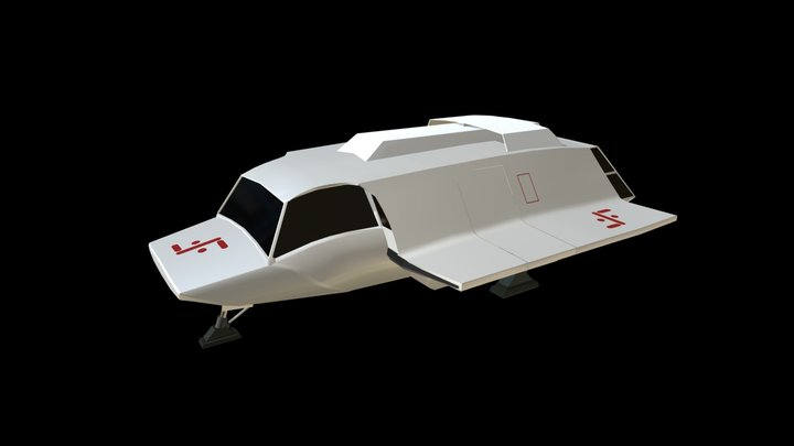 V Skyfighter 3D Model