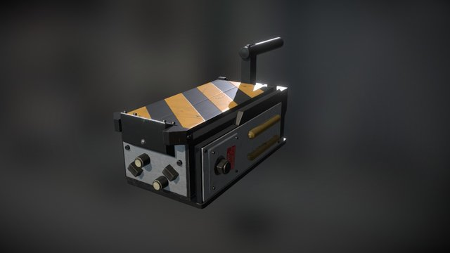 Ghostbusters Ghost Trap (2016) 3D Model