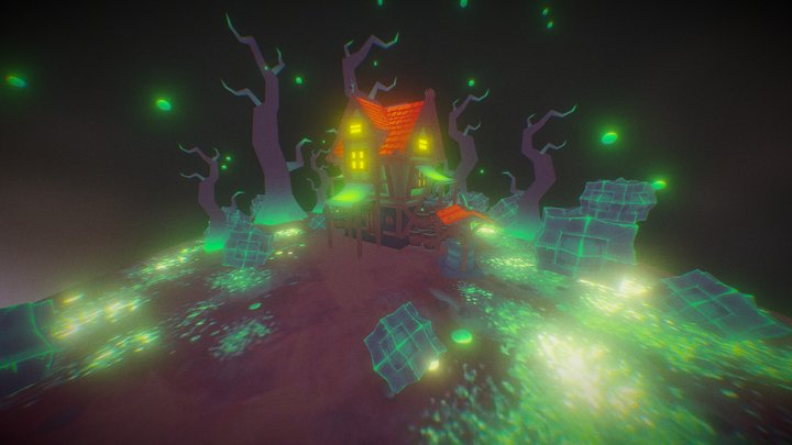 Mysterious Swamp 3D Model