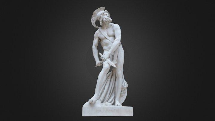 Philopoemen - Louvre Museum 3D Model