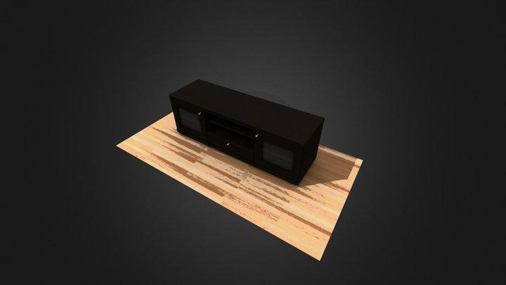 IBERA Mesa TV 3D Model