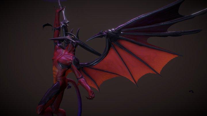 Diablos / Nosferatu Final Fantasy VIII 3D Model