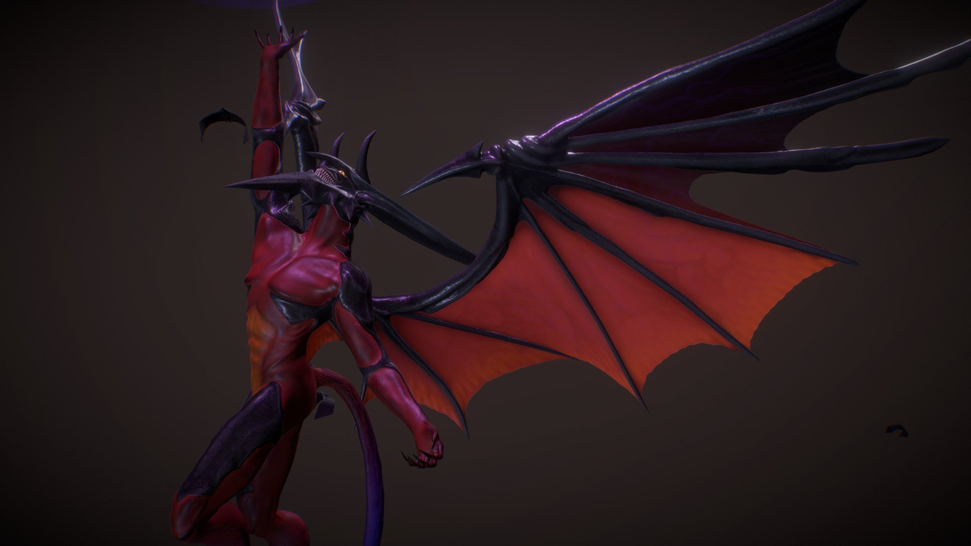 Diablos Nosferatu Final Fantasy Viii 3d Model By Edouard