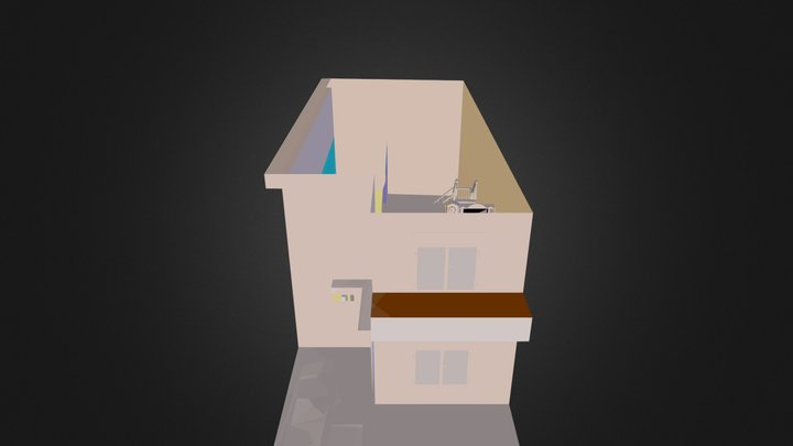 Bulevard canticas.Sta.Isabeel.dae 3D Model