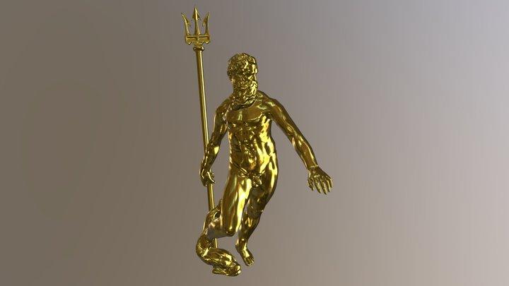 Poseidon 3D Model
