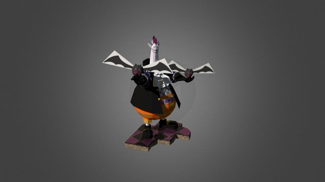 Gecko Moria 3D Model