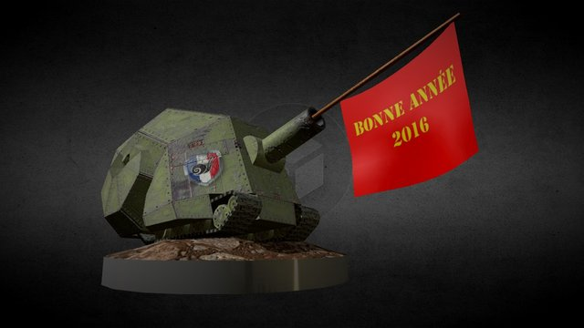 Voeux 2016 Clan NVS 3D Model