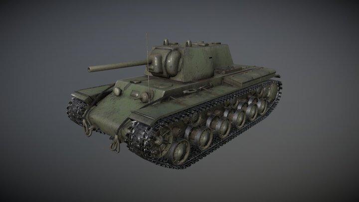 Kv-1 (КВ-1) 3D Model