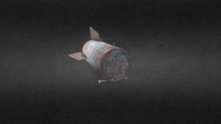 Barrel Bomb 3D Model