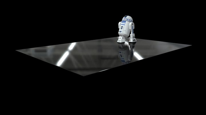 R2D2 - Star Wars 3D Model