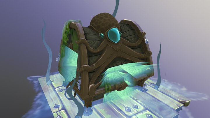 Angler's Treasure 3D Model