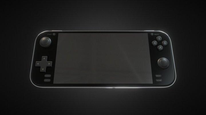 Game Handheld Console V3 3D Model