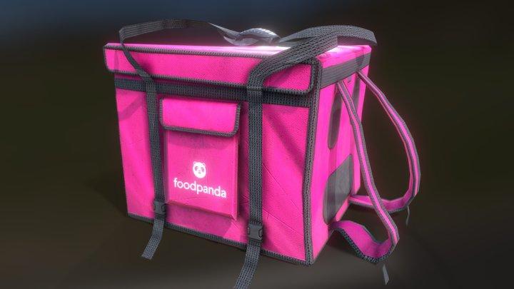 Foodpanda Bag 3D Model