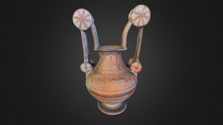 Apulian amphora (Trozzella) 3D Model
