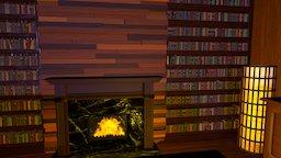 Lounge Room 3D Model