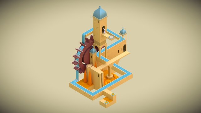 Monument Valley, Stage 2 3D Model
