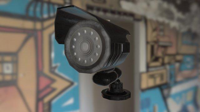 Simple Object (CCTV) - Tom Ryckeboer (2DAE05) 3D Model