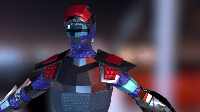 Character Creation Test 1 3D Model