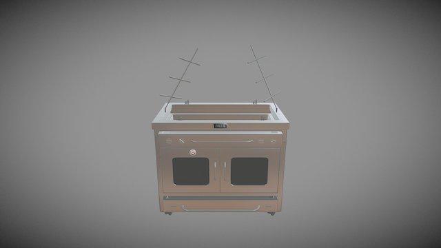 44 Burner Drawer - HBP15— Asado 3D Model