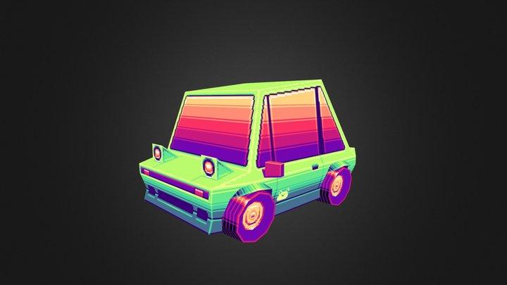 Frog Car 3D Model