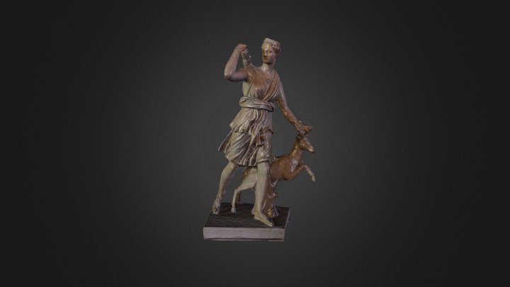 Diana of Versailles 3D Model