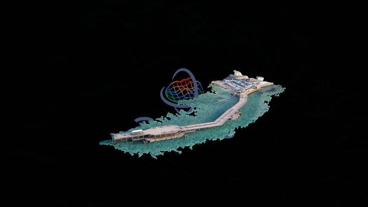Swanage Pier 3D Model