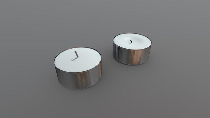 Tea Light 3D Model