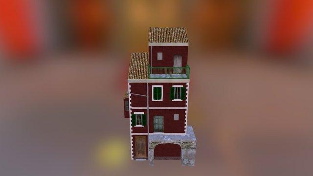 Cityscene House 1 3D Model