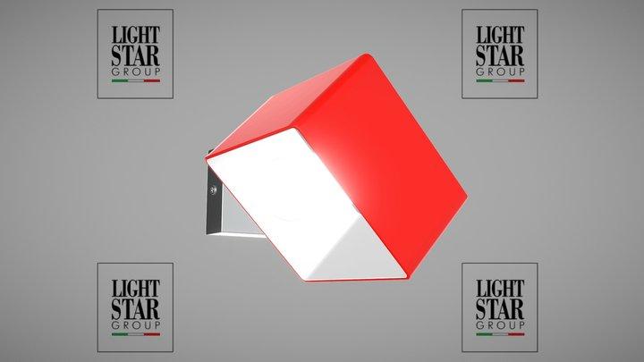 801612 Pezzo Lightstar sconce 3D Model