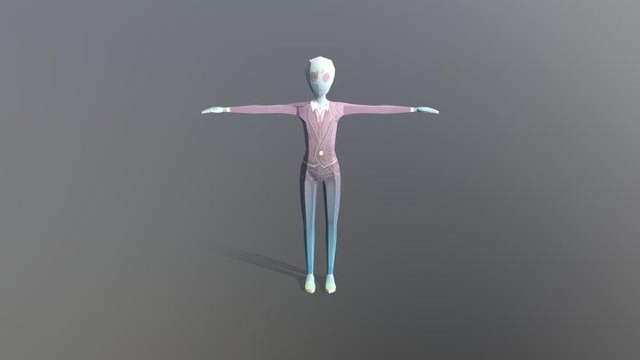 Mr.Alien 3D Model