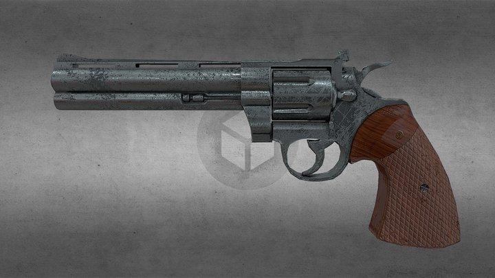 Colt Python 357 3D Model