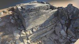 Labraunda - Built tomb 2016 3D Model