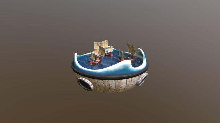 Bumper Boats 3D Model