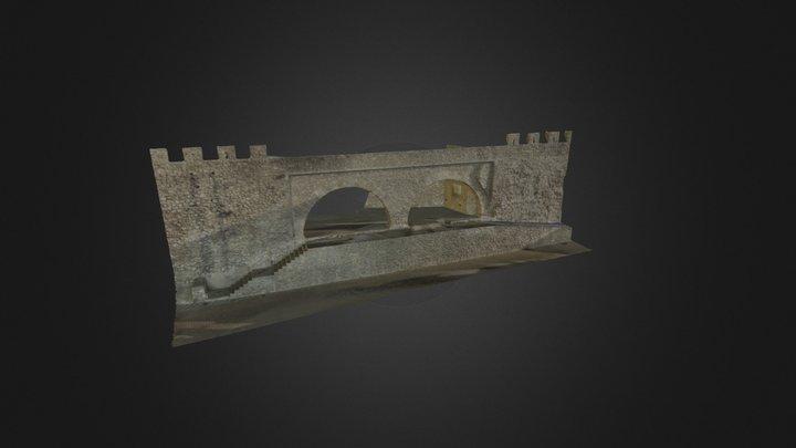 Modelo 3D Muralla Segorbe 4DMetric 3D Model