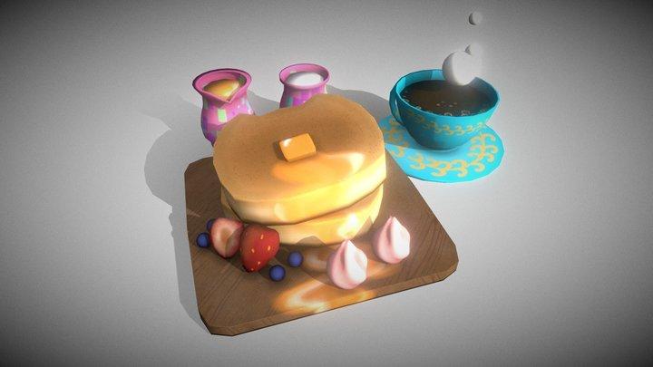 Desayuno 3D Model