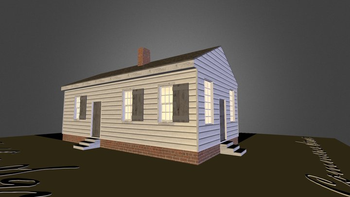 Lacey Store 3D Model