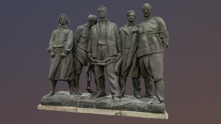 Freedom Statue 01 3D Model